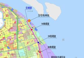 上海市天然气主干管网五号沟LNG站至临港首站天然气管道工程